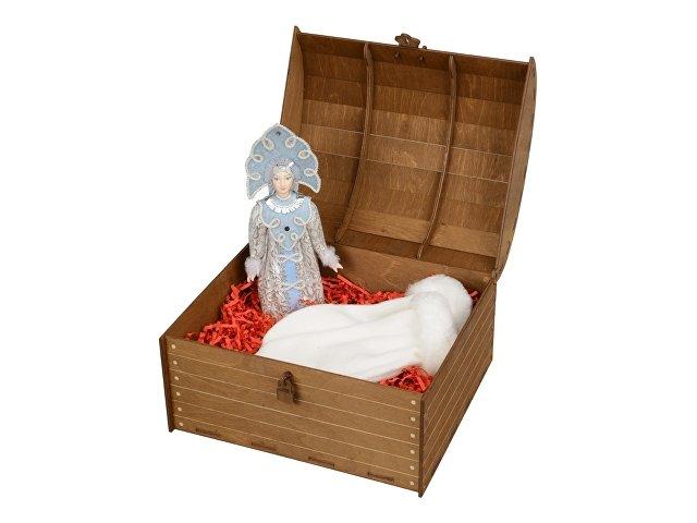 Подарочный набор «Новогоднее настроение»: кукла-снегурочка, варежки (арт. 94804.01)