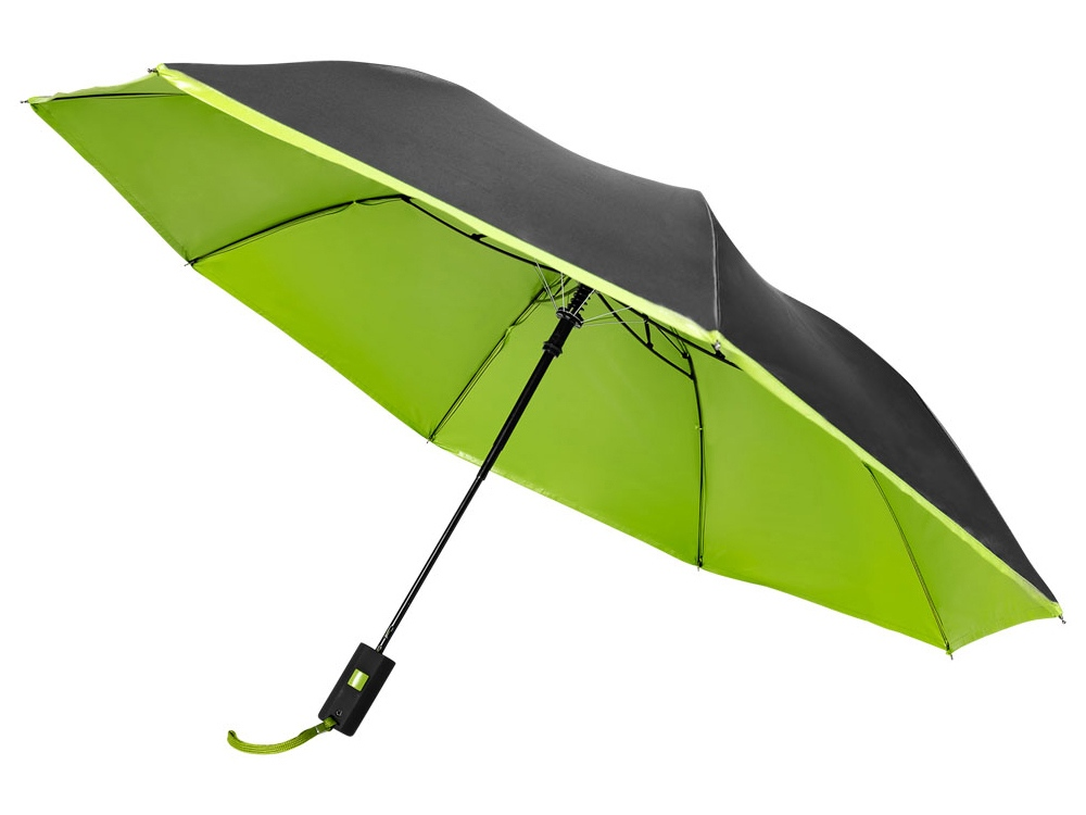 Зонт Spark двухсекционный, 21, зеленый