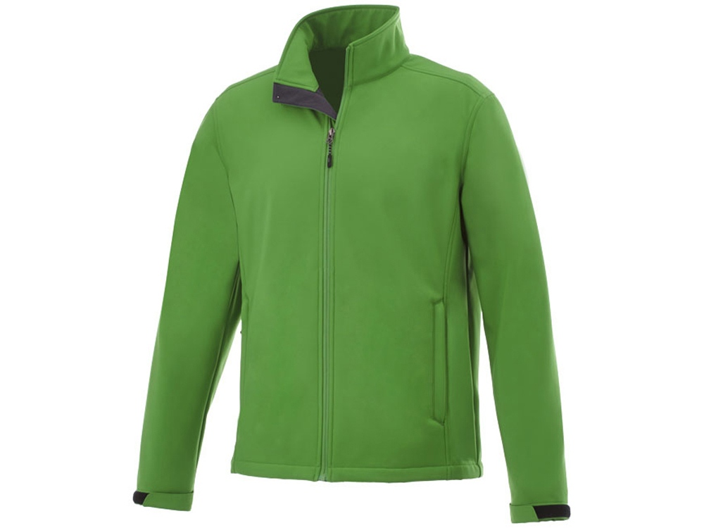 Куртка софтшел Maxson мужская, папоротник зеленый