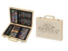 Набор для рисования в чемодане с рождественским рисунком (арт. 10607200.02)