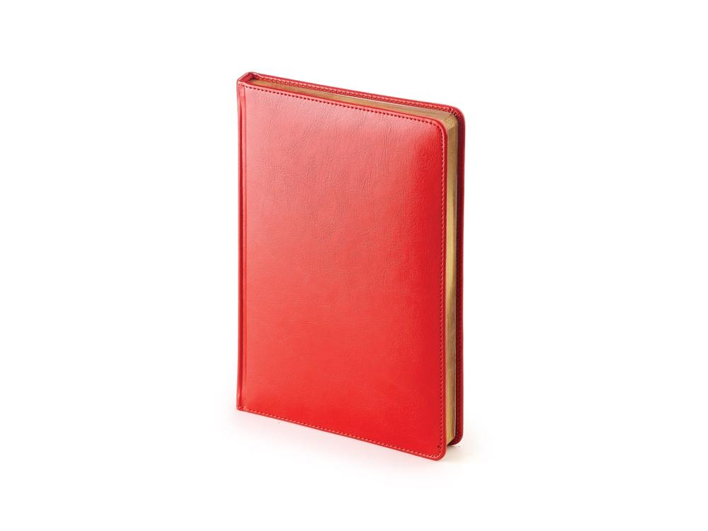 Ежедневник А5 датированный Sidney Nebraska 2020, красный
