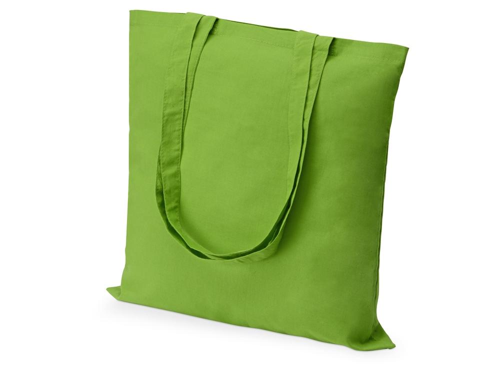 Сумка из хлопка Carryme 105, зеленое яблоко