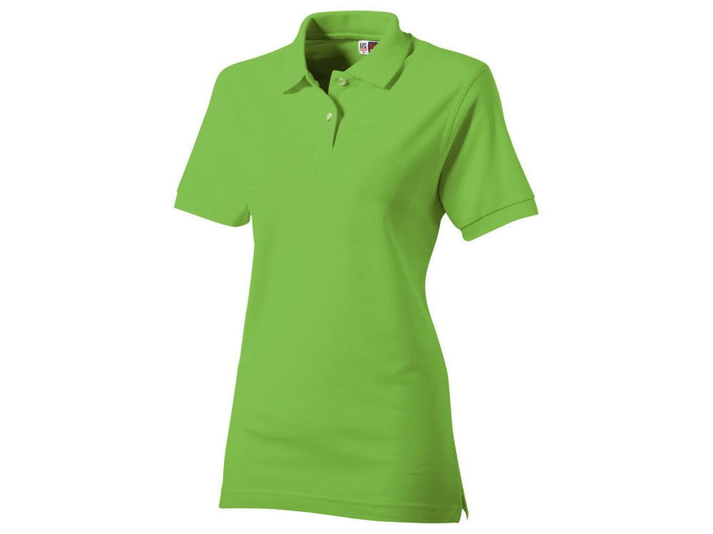 Рубашка поло Boston женская, зеленое яблоко