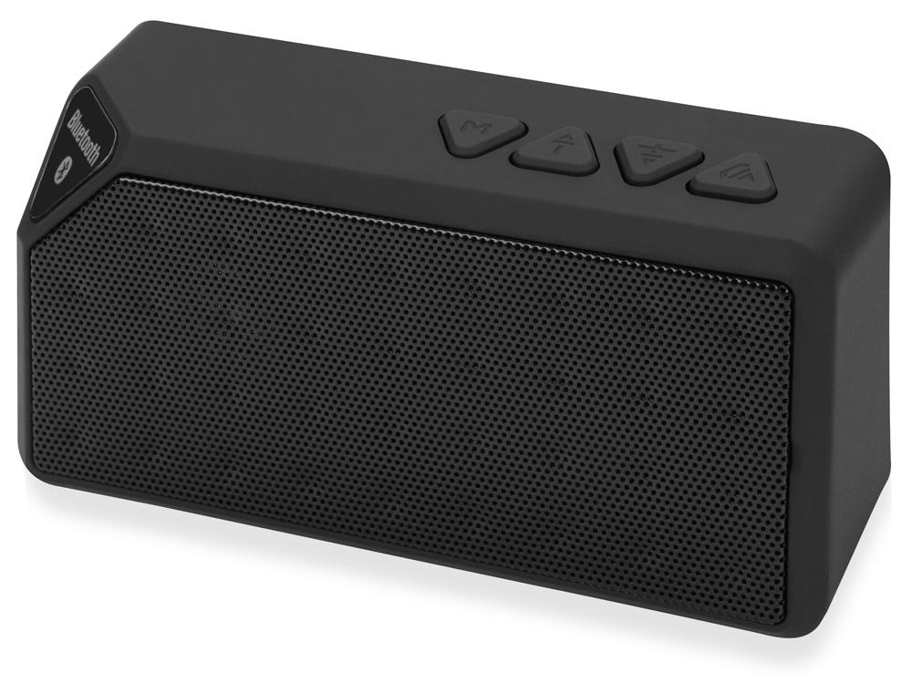 Портативная колонка Bermuda с функцией Bluetooth®, черный