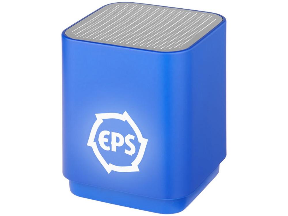 Светодиодная колонка Beam с функцией Bluetooth®, ярко-синий