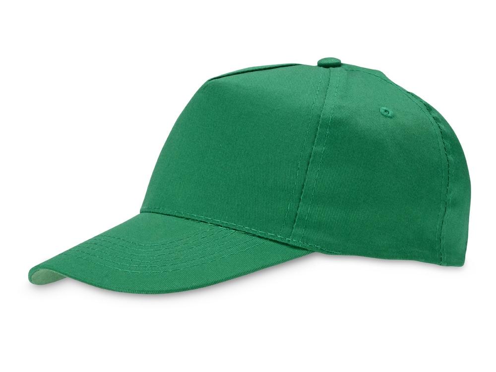Бейсболка Memphis 5-ти панельная, зеленый