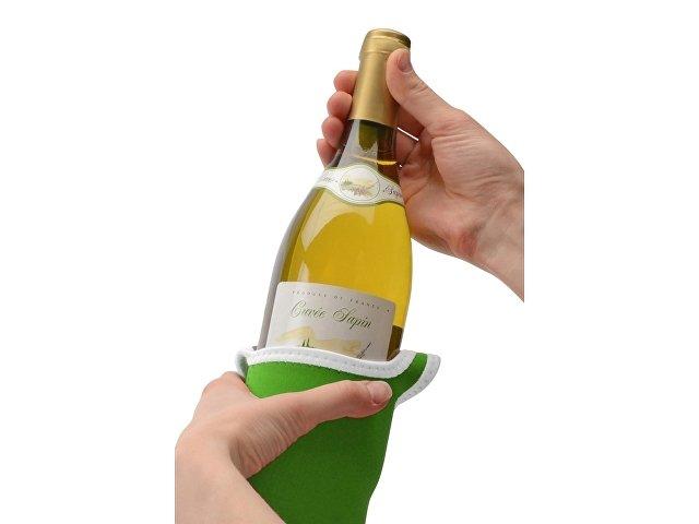 Декоративный чехол для бутылки вина
