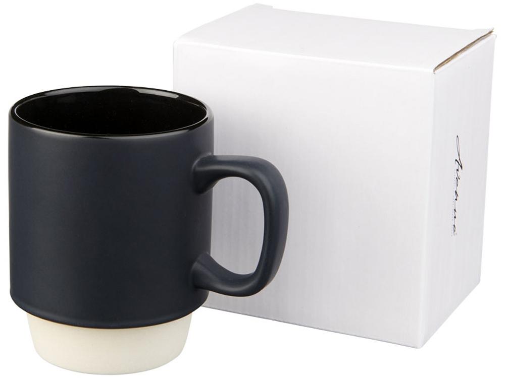 Керамическая кружка Arthur, 420мл, черный