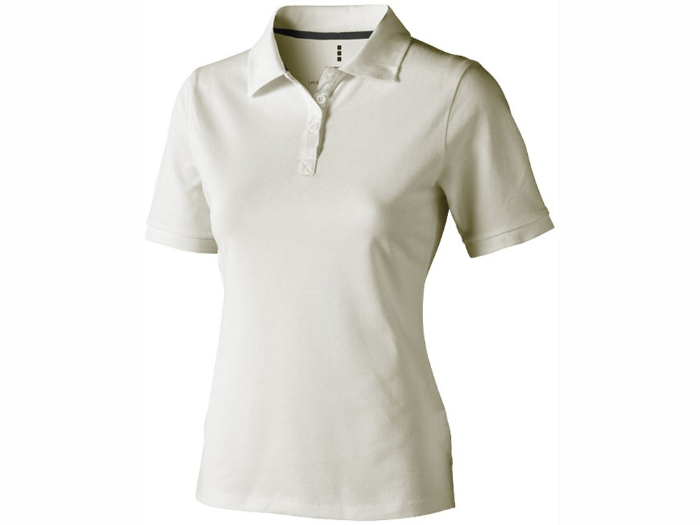 Рубашка поло Calgary женская, светло-серый