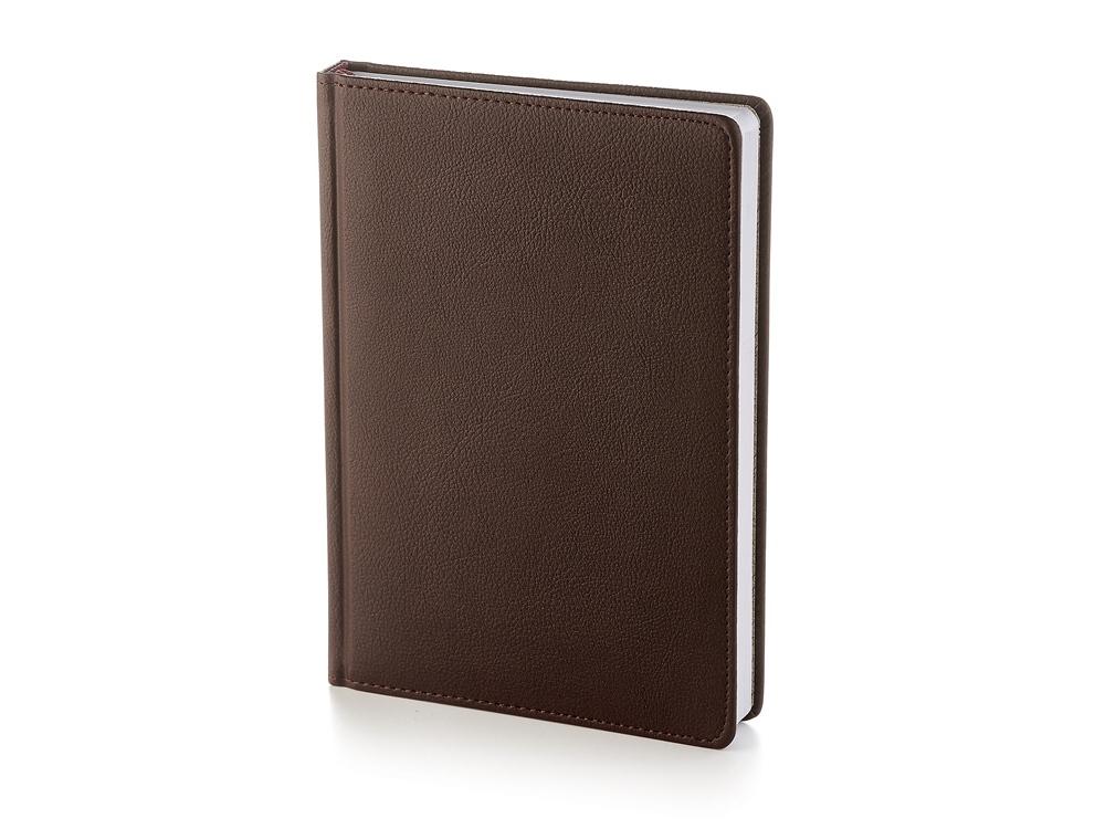 Ежедневник А5 датированный Leader 2020, коричневый