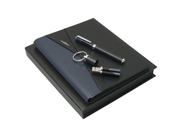 Подарочный набор Lapo: папка А5, флеш-карта 16 Гб, ручка роллер. Ungaro