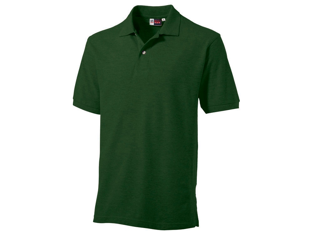 Рубашка поло Boston мужская, бутылочный зеленый