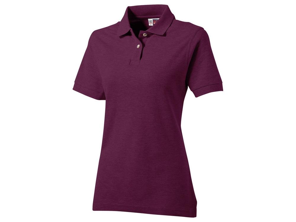 Рубашка поло Boston женская, темно-фиолетовый