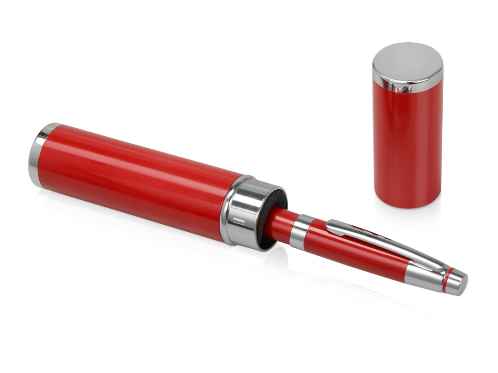Ручка шариковая Ковентри в футляре красная