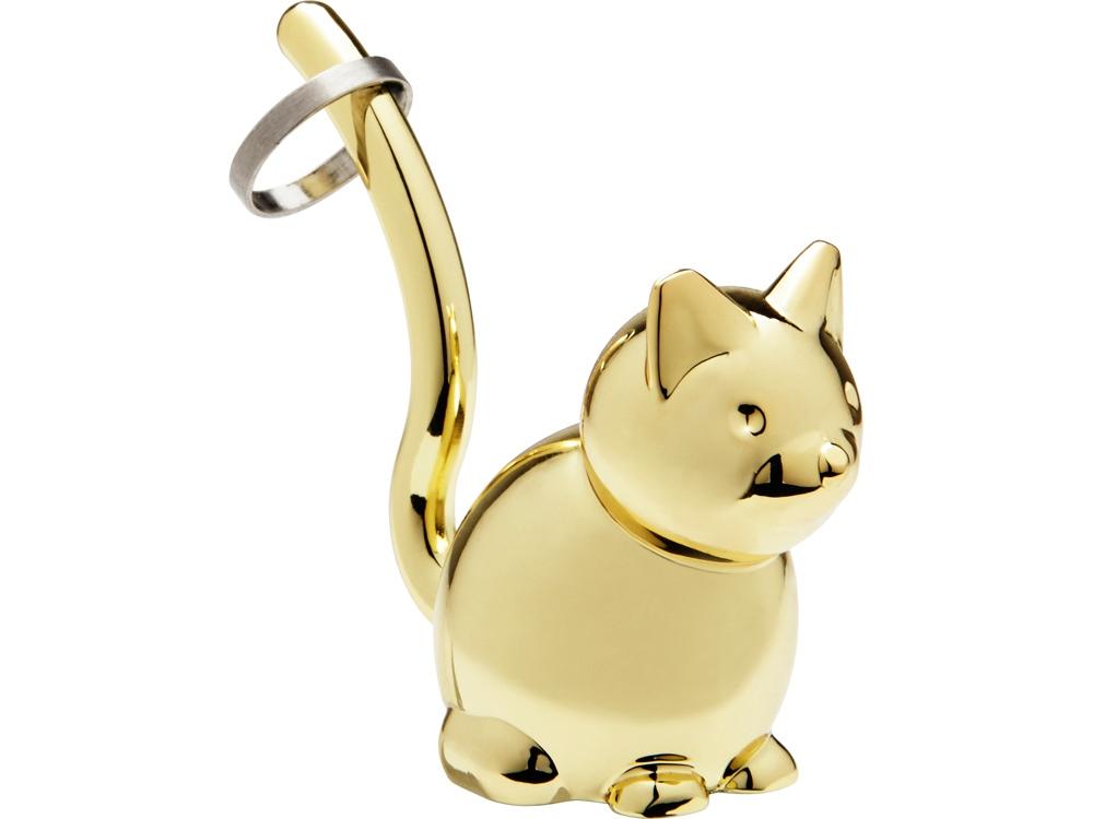 Подставка для колец Zoola Кошка, латунь
