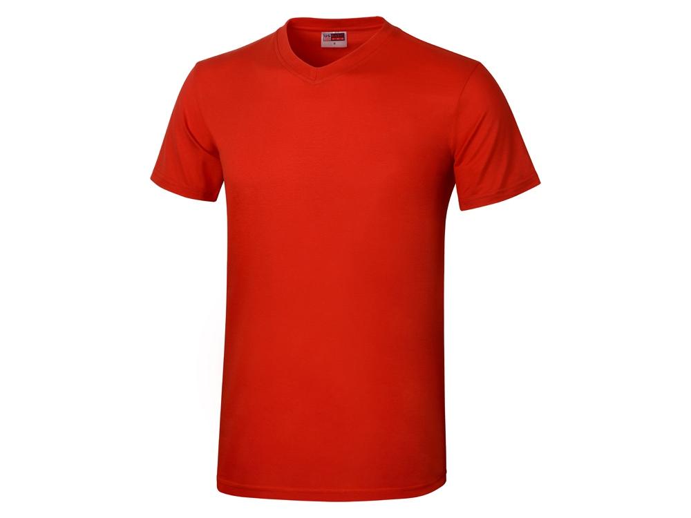 Футболка Heavy Super Club мужская с V-образным вырезом, красный