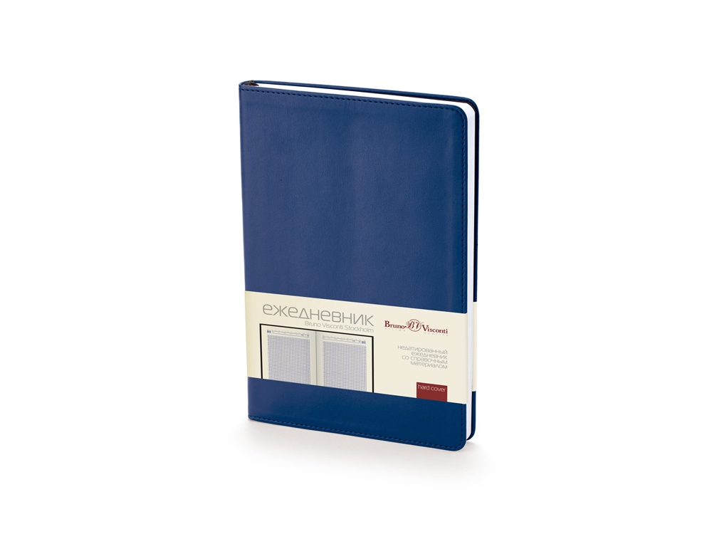 Ежедневник недатированный А5 Stockholm, синий