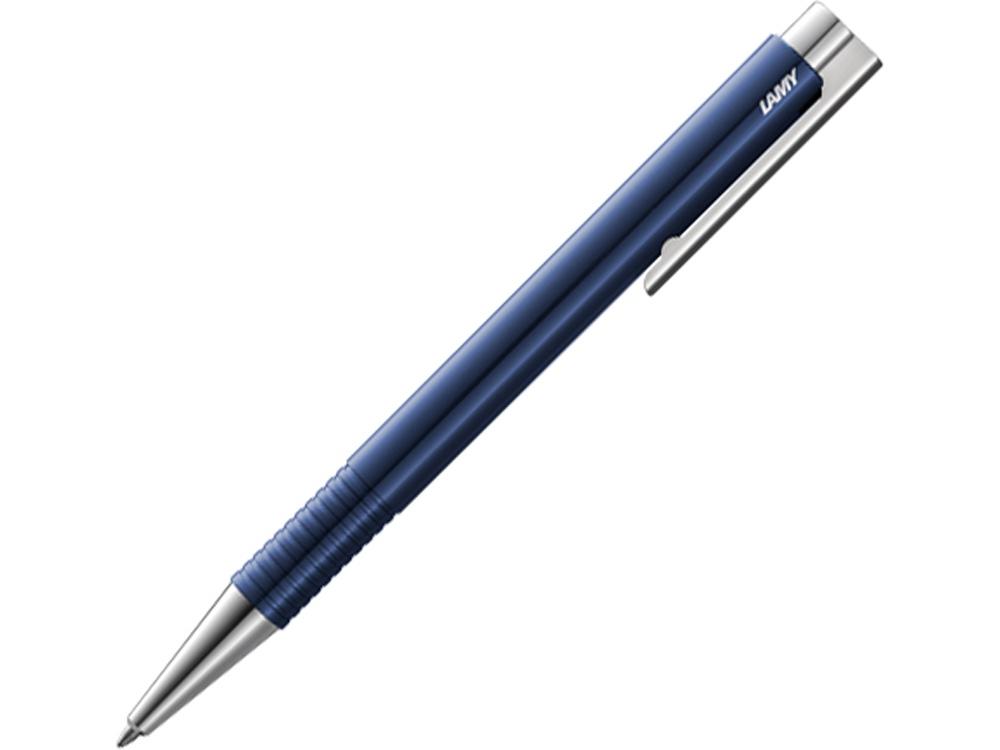 Ручка шариковая 204 logo M+, Синий, M16