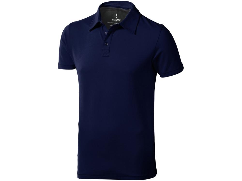 Рубашка поло Markham мужская, темно-синий/антрацит