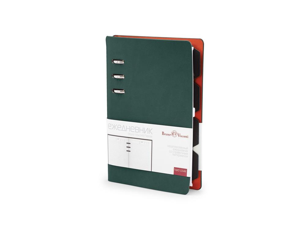 Ежедневник недатированный А5 Firenze, зеленый