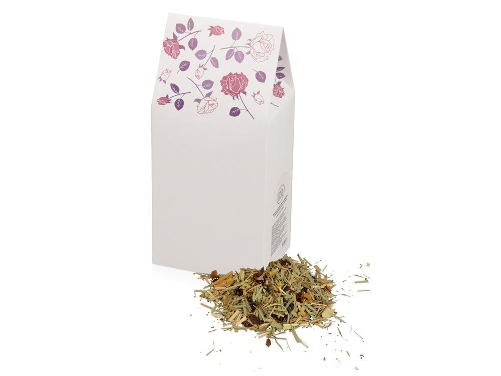 In Bloom чай на основе трав и плодов с лемонграссом и мятой, 60 г., белый