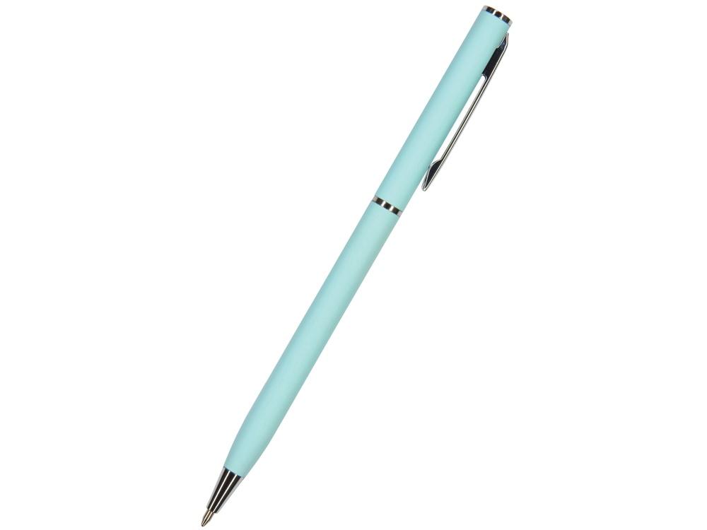 Ручка Palermo шариковая  автоматическая, нежно- голубой металлический корпус, 0,7 мм, синяя