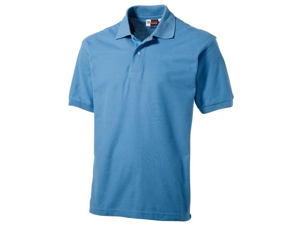 Рубашка поло Boston мужская, голубой лед
