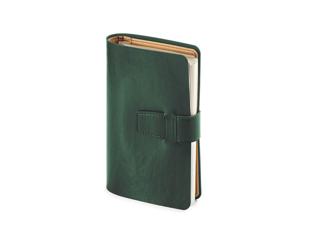 Ежедневник недатированный А5 Sienna, зеленый