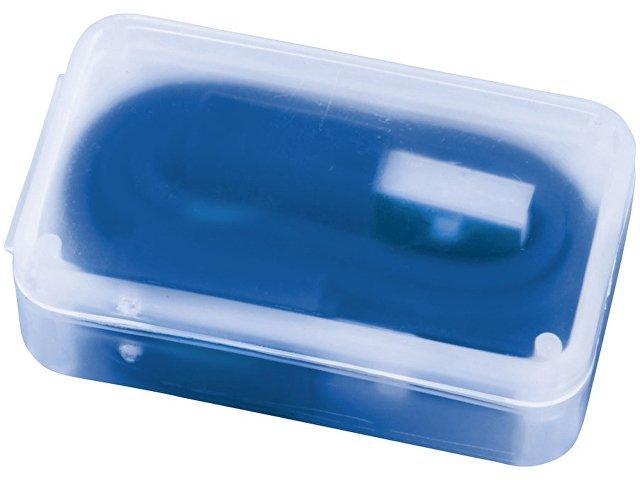 2 в 1 Кабель для зарядки в футляре, синий