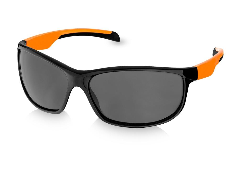 Солнцезащитные очки Fresno, черный/оранжевый