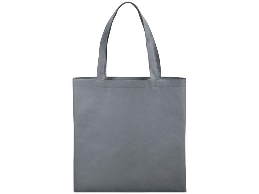 Небольшая нетканая сумка Zeus для конференций, серый