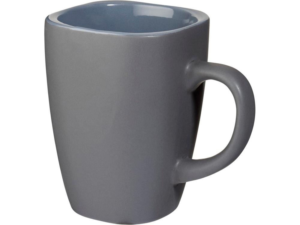 Керамическая кружка Folsom объемом 350мл, серый