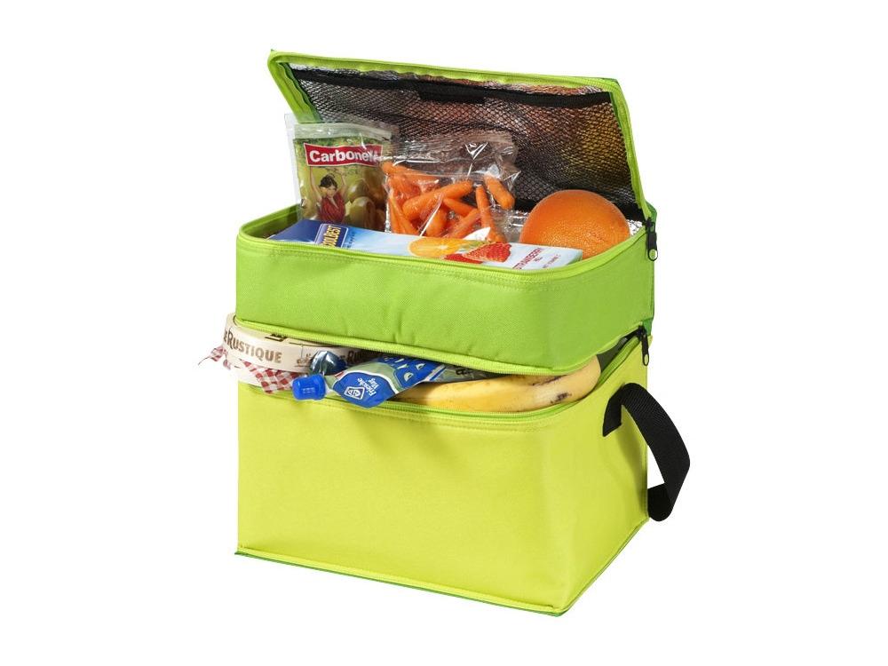 Сумка-холодильник Trias, темно-зеленый/зеленый