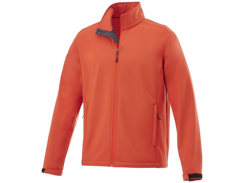 Куртка софтшел Maxson мужская, оранжевый
