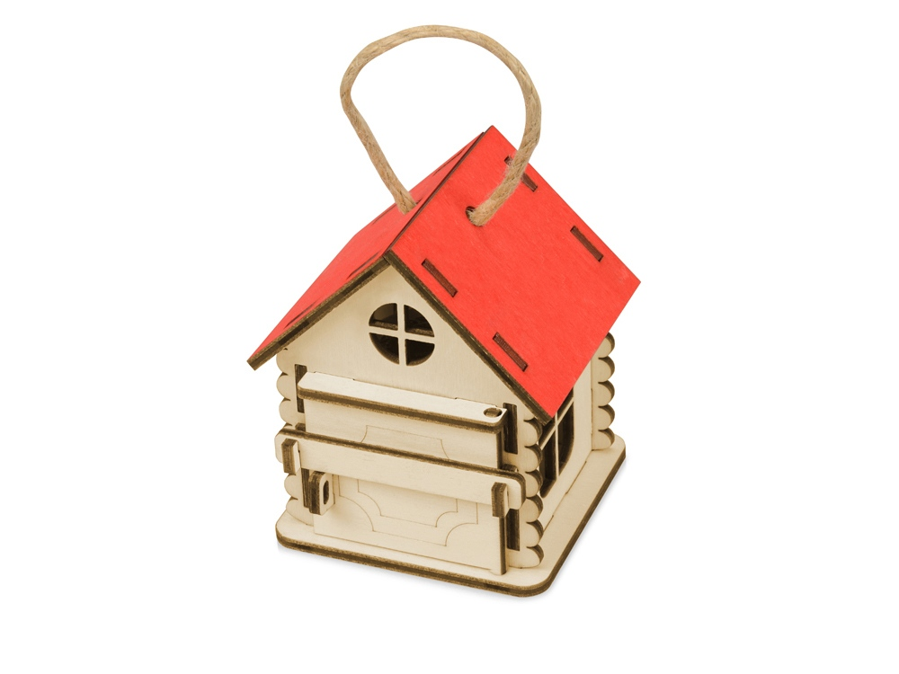 Игрушка Домик упаковка, красный