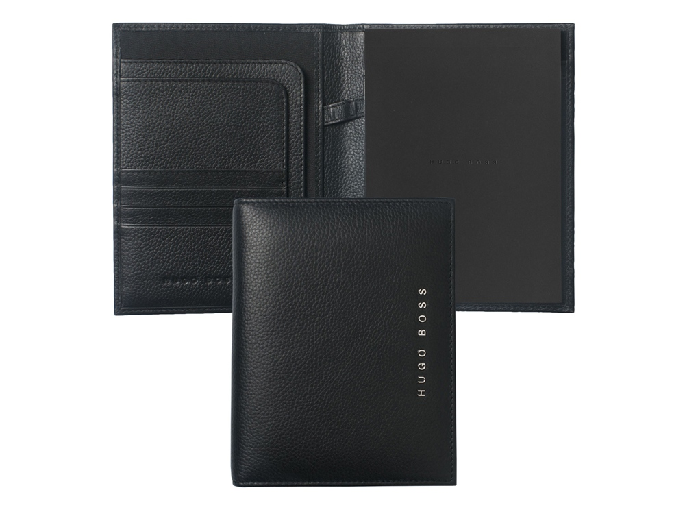 Папка формата А6 Basis. Hugo Boss, черный