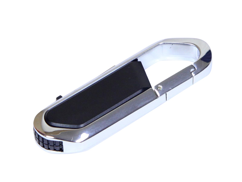 Флешка в виде карабина, 16 Гб, черный/серебристый
