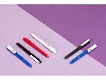 Ручка пластиковая шариковая Pigra  P03 «софт-тач» (арт. p03prm-901), фото 4