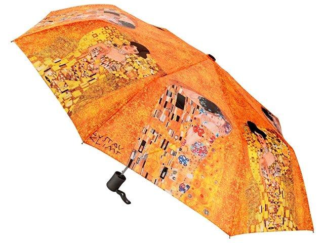 Набор «Климт. Поцелуй»: платок, складной зонт