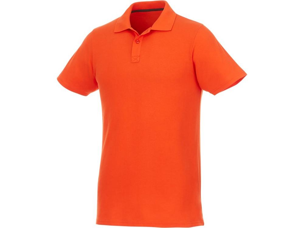 Мужское поло Helios с коротким рукавом, оранжевый