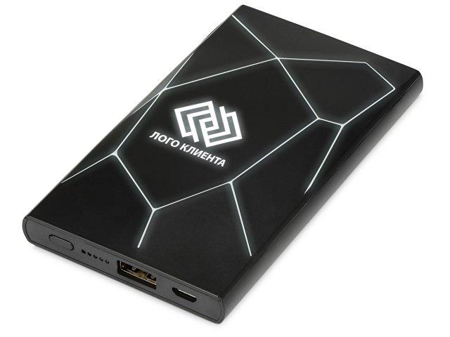 Портативное беспроводное зарядное устройство «Geo Wireless», 500