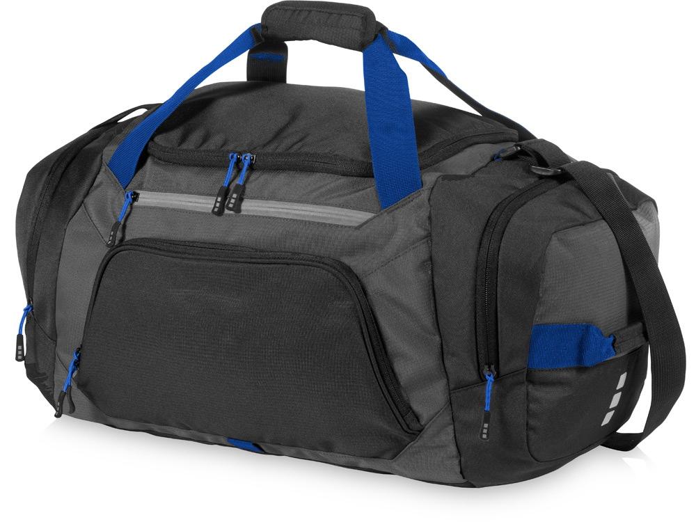 Спортивная сумка Milton, черный/темно-серый/ярко-синий
