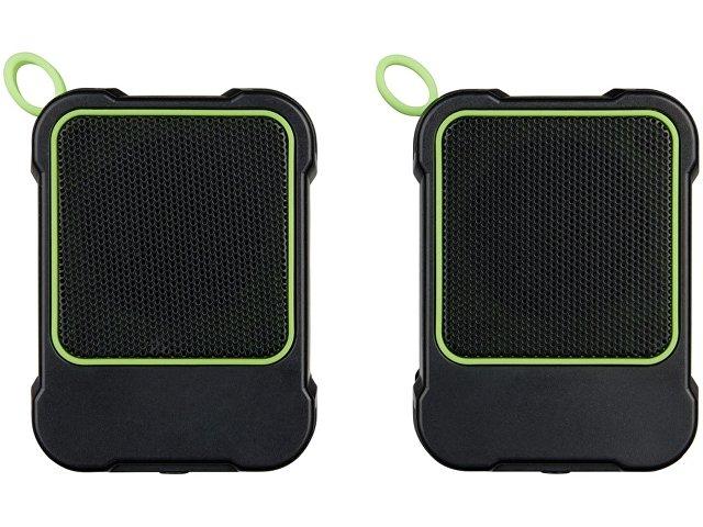 Водонепроницаемые колонки Bond с функцией Bluetooth® для использования на открытом воздухе, лайм