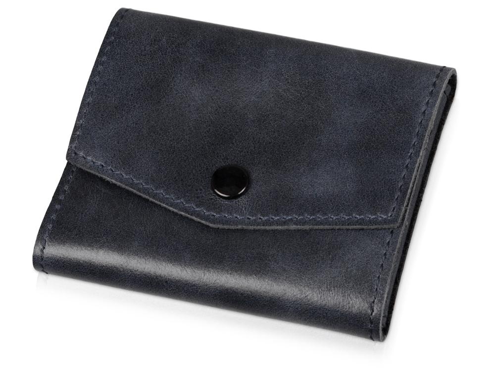 Чехол для кредитных карт и банкнот Druid, темно-синий