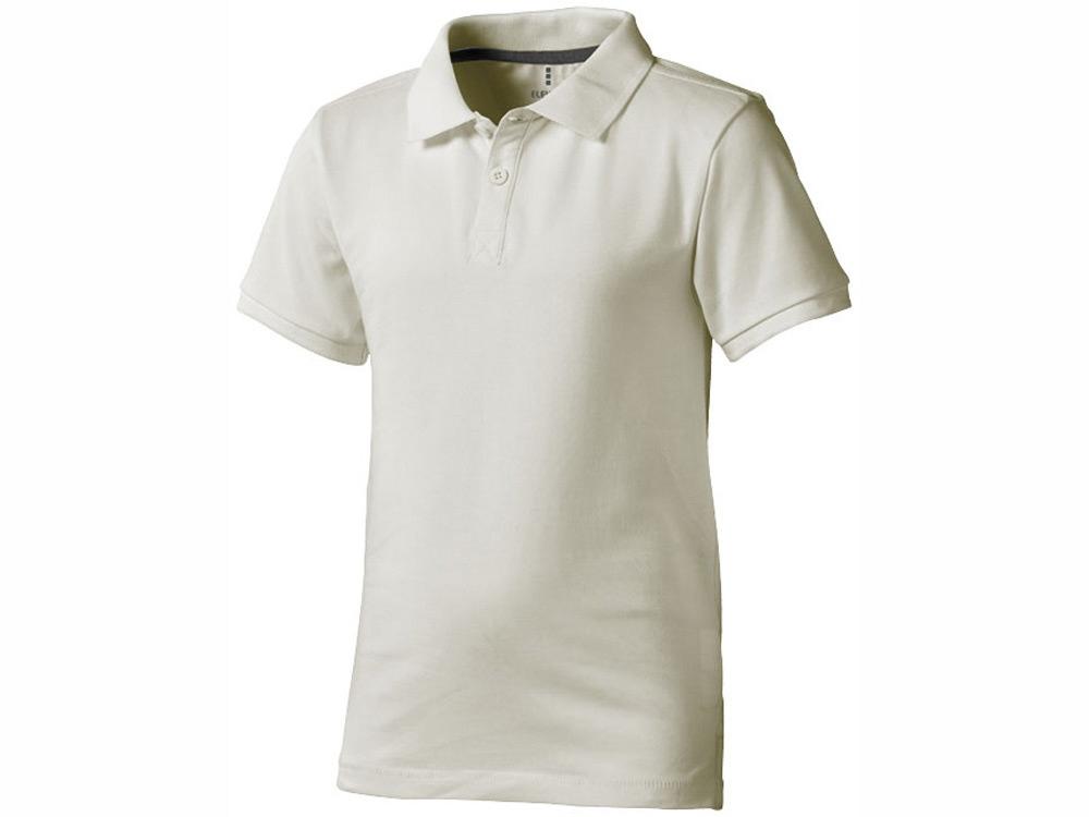 Рубашка поло Calgary детская, светло-серый