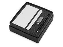 Подарочный набор Reporter Plus с флешкой, ручкой и блокнотом А6 (арт. 700317.07), фото 2