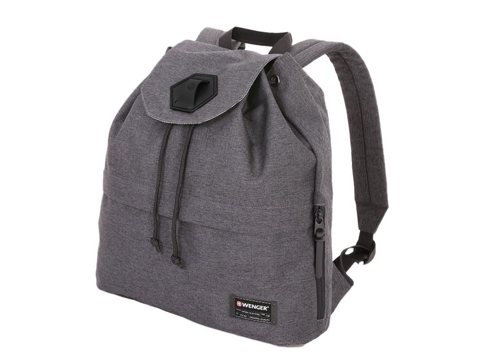 Рюкзак 16л с отделением для ноутбука 13. Wenger, серый