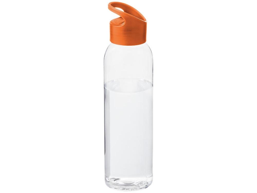 Бутылка Sky, прозрачный/оранжевый