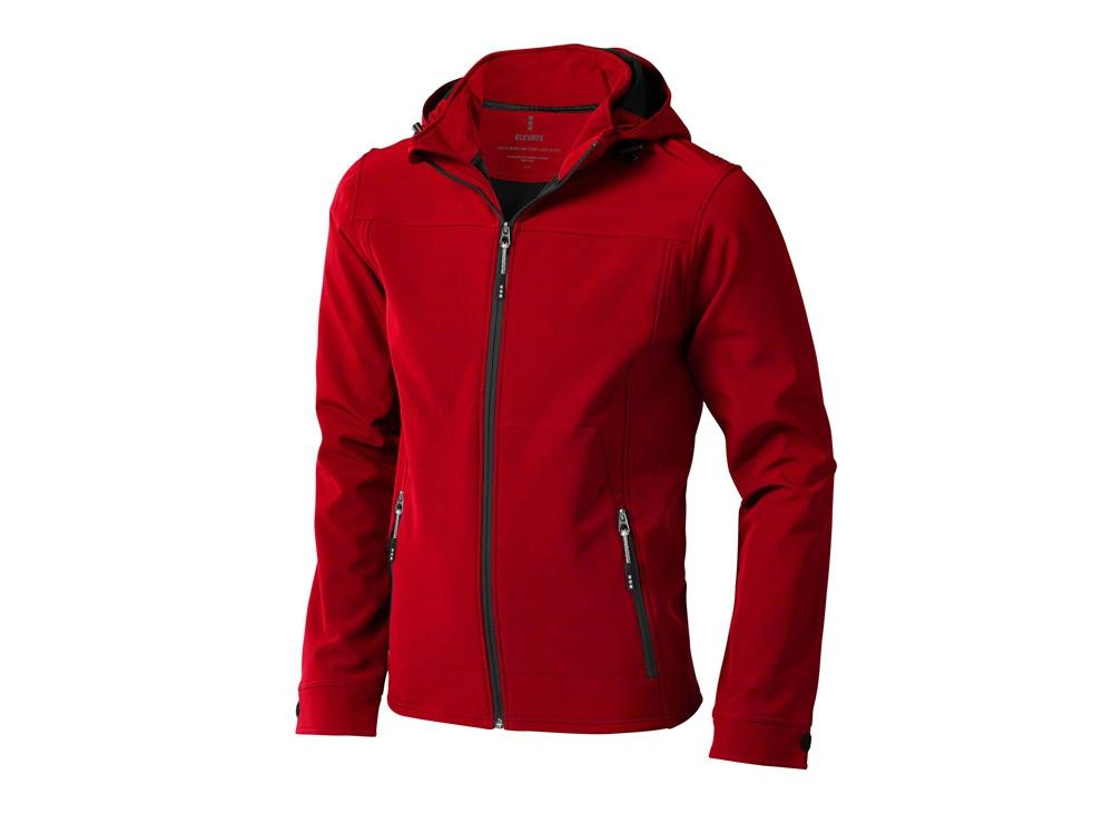 Куртка софтшел Langley мужская, красный