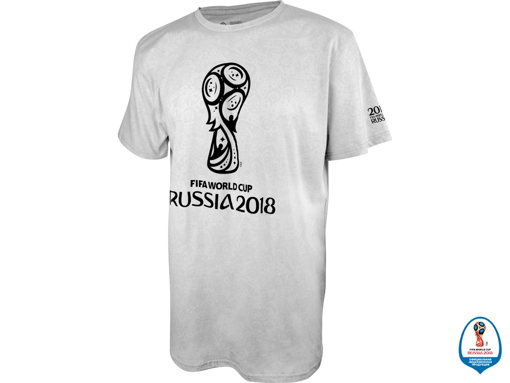 Футболка 2018 FIFA World Cup Russia™ мужская, серый